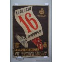 CARTEL MOTOS 1950