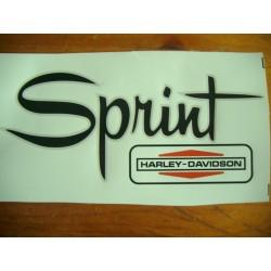 ADHESIVOS DEPOSITO HARLEY DAVIDSON SPRINT