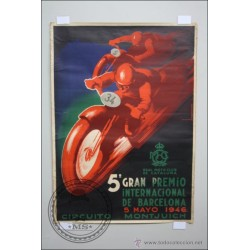 CARTEL MOTOS 1946