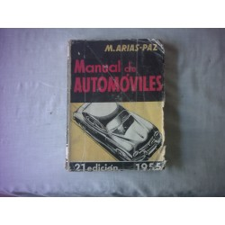 MANUAL DE AUTOMOVILES ARIAS PAZ DE 1955