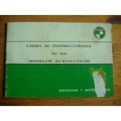 LIBRO DE INSTRUCCIONES MODELOS AUTOMATICOS PUCH 48