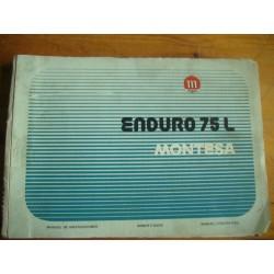 MANUAL INSTRUCCIONES MONTESA ENDURO 75 L