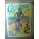 CARTEL BICICLETA CYCLES CLEVELAND